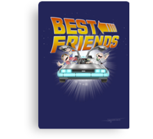 Best Friends - Back To The Future Canvas Print