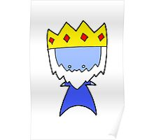 Ice King Wee Star (Adventure Time) Poster