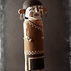 Heyheya uncle Kachina Doll by Carl  Onsae