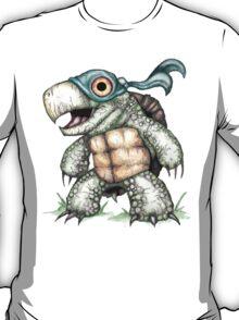 Teenage Mutant Snapping Turtle - Leonidas T-Shirt