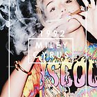 MILEY SMOKING by aiexturner