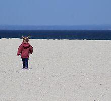 Little Beach Explorer by Gilda Axelrod