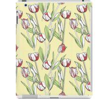 Seamless pattern with tulips iPad Case/Skin
