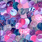 Scattered Glass Button Collection by Stephanie Rachel Seely