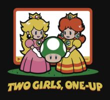 Two girls one up by RobertKShaw