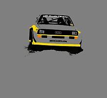 Audi Quattro S1 Rally Car - Phone Case by Lynchie