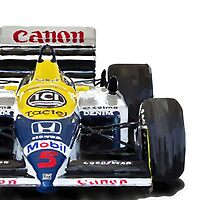 Williams F1 FW11 - 1987 Samsung Phone case by Lynchie