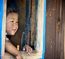 Nepali Window by madsnyborg