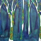 Enchanted woods by Kay Clark