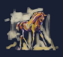 T-shirt foal grace and color Kids Clothes