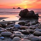 Dinosaur egg beach by Rachel Slater