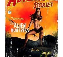 Adventure Stories the Alien Huntress by simonbreeze