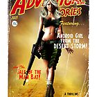 Adventure Stories the Android Girl from the Desert Storm by simonbreeze