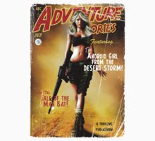 Adventure Stories the Android Girl from the Desert Storm T-Shirt