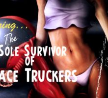 Adventure Stories the Sole Survivor of the Space Truckers Sticker