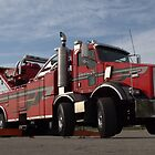 Santa Fe Tow Kenworth Big Rig Tow Truck by TeeMack