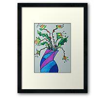 Daffodils in Vase Framed Print