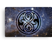 Gallifreyan's Seal of Rassilon Canvas Print