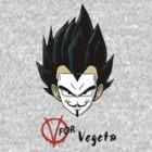 V for Vegeta by RobertKShaw