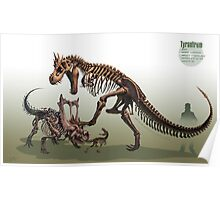 Tyrantrum Fossil Poster