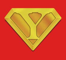 Super Gold Y Logo by TheGraphicGuru