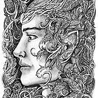 Portrait of an elf by jankolas
