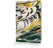 Tidal Surf Greeting Card