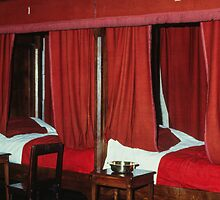 Individual beds in Sanatorium Hotel de Dieu Beaune France 198404290024 by Fred Mitchell