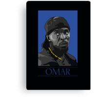 Omar  Canvas Print