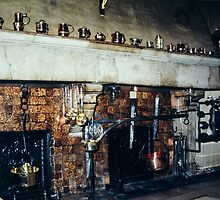 Kitchen of Hotel de Dieu Beaune France 198404290028 by Fred Mitchell