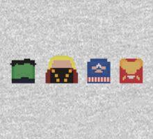 PopCubes: Avengers by Tykittyium