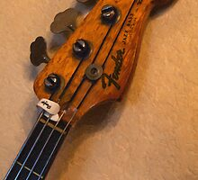 Fender Jazz Bass Blond by damhotpepper