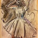 After Degas - study in D II by Pixie-Atelier