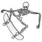skeleton by hardsteps