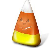 Halloween Candy Corn-O-Lantern by andabelart