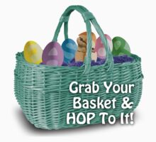 Easter - Grab your basket, and hop to it! by andabelart