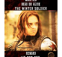 The Winter Soldier Wanted by amirshazrin