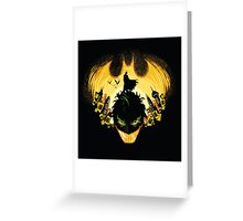 Gotham nightmare Greeting Card