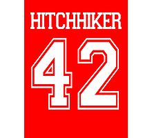 Hitchhiker's Guide To The Galaxy- Football/Soccer Jersey Photographic Print