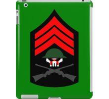 Sgt Hatred iPad Case/Skin