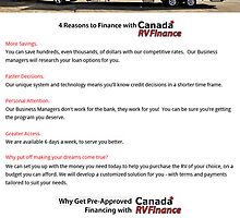 Canada rv dealers by canadarv