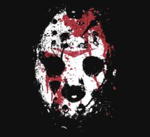 FRIDAY THE 13TH Jason Voorhees Hockey Mask (2) T-Shirt by horrorkid
