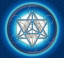 MERKABA - METATRONS CUBE - SACRED GEOMETRY by nitty-gritty