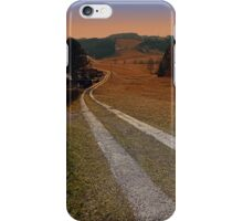 Scenery and a pathway into dawn | landscape photography iPhone Case/Skin