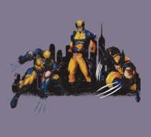 Wolverine Montage by Impala-Designs