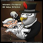 Voo Doo Chickens Of New Orleans by Rick  London