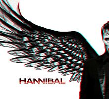 Hannibal Wings 3d by indiana000