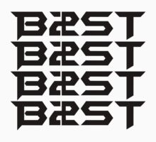 비스트 BEAST B2ST Logo Black by ApriliantoAlf