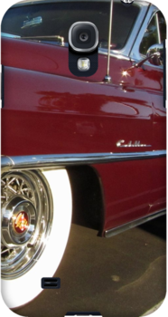 Red Cadillac at palms by damhotpepper