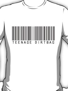 Teenage Dirtbag Barcode T-Shirt